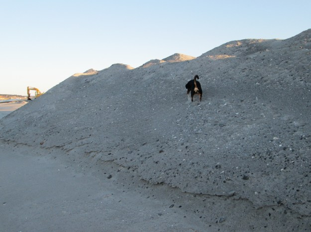 Just how much sand is 115,000 cubic yards?