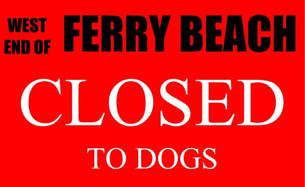 dogblog--ferry closed
