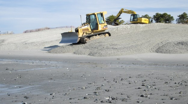 """Can't wait until the beach """"renourishment"""" starts up again this fall!"""
